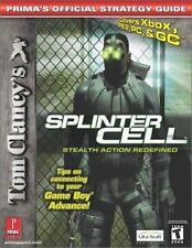 TOM CLANCEY'S SPLINTER CELL STEALTH ACTION REDEFINED OFFICIAL STRATEGY GUIDE