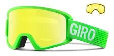 NEW Giro Semi Green Yellow Mirror Mens ski goggles + lens 2016 Msrp$100