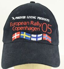 Forever Living Products European Rally Copenhagen 2005 flag baseball hat ca