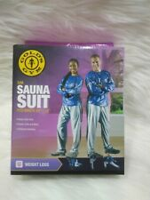"Golds Gym Adult Sauna PANTS ONLY S/M Fits Waist Sizes 24"" 32"""