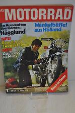 DAS MOTORRAD  Nr.5 - 7. März - 1970