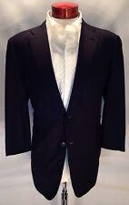 E290 BRIONI Super 180's Navy 2-Button Wool Jacket/Blazer-Italy 46R Dual Vent