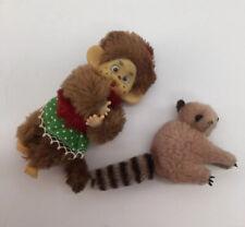 Skelanimals Marcy Monkey Clip-on plush NEW Still in bag