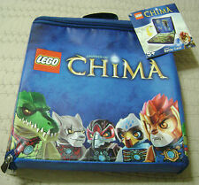 LEGO Legends Of CHIMA Zip Battle Carry Case New
