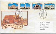 AUSTRALIA F.D.C. 17/9/1992;CENTENARY DISCOVERY OF GOLD @ COOLGARDIE; SG 1377-80.
