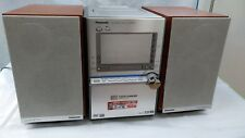 Panasonic SA-PM91D 5-DVD/CD Changer Mini Hi-Fi System Bluetooth MP3 Super Sound