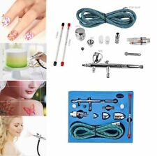 SP180K Double-action Trigger Air-paint Control Nail Tatoo Cosmetic Air Brush Kit