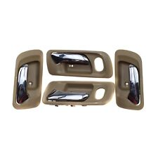 Beige Front Rear Interior Door Handle Set 4 For 1998-02 Honda Accord 4 Door NEW