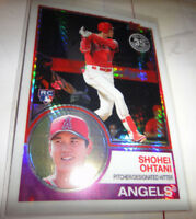SHOHEI OHTANI, RC, ANGELS, 2018 TOPPS BASEBALL UPDATE SERIES 35th ANN CHROME 145