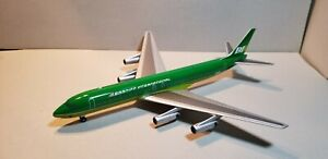 AVIATION 200 BRANIFF INTERNATIONAL DC8-62 (GREEN) 1:200 SCALE DIECAST MODEL