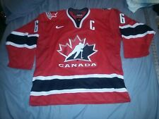 MARIO LEMIEUX #66 SIGNED AUTOGRAPHED TEAM CANADA AUTHENTIC HOCKEY JERSEY 44 NWT