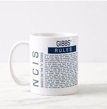 NCIS Inspired  Funny Gibbs Rules MUG Coffee Tea Cup Office Work Latte Drink Gift