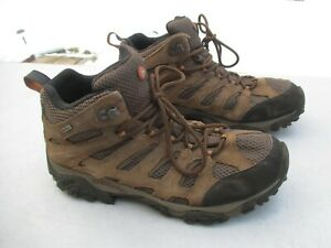 """Men's  """"Merrell Earth Leather Waterproof Performance Boots""""  11 1/2 / Very Nice"""
