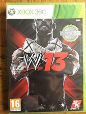 WWE 13 CLASSICS BEST SELLER versione-XBOX 360 versione UK NUOVO SIGILLATO!
