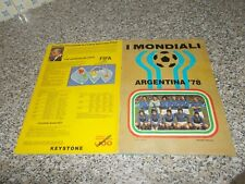 ALBUM ARGENTINA 78 LAMPO FLASH COMPLETO MB/OTTIMO TIPO CALCIATORI PANINI EDIS