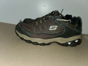 Skechers Men's   After Burn Memory Fit Cross Training Shoe preowned size 8.5