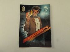 """Topps Dr Who - Timeless """"THE ELEVENTH DOCTOR"""" #11/13 Matt Smith Trading Card"""