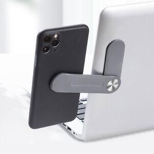 Foldable Laptop Side Mount Clip Phone Holder Computer Monitor Expansion Bracket