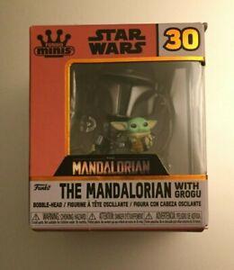 Funko Mystery Mini Star Wars MANDALORIAN FLYING WITH THE CHILD GROGU 1/24 Sealed