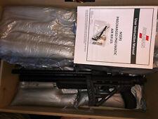 Ataman M2R Carbine w $65 1/2x20 Muzzle Adapter, Folding Stock, .22 PCP, Black