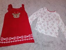18-24 Months Christmas Dress And Top F&f