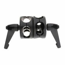Swivel Dual Head Grip Bracket Clamp for Photo Studio Boom Reflector Arm