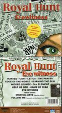 Royal Hunt-Eyewitness (Limited Edition, 2003) John west, melodic power metal