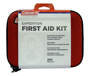 Coleman Expedition First Aid Kit 2019 205 Piece Kit 7604 NEW