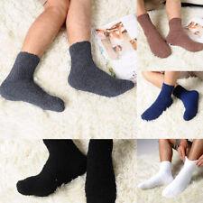 1 Paar cozy Weiche Plüschsocken Bettsocken Strümpfe Damen Kuschelsocken Socken