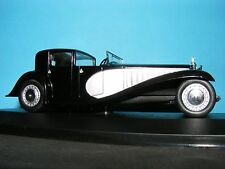 Bugatti Type 41 Royale in Silverover Black from 1928 1:43 Scale New Whitebox