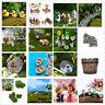 Fairy Garden Miniature Stone House Figurine Craft Micro Landscape Ornament HTC