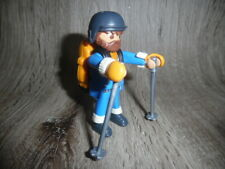 Playmobil Figuren   Bergsteiger   Wanderer mit Rucksack Handschuhen & Stöcken