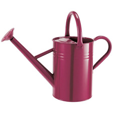 Metal Watering Can 4.5l Burgundy 34931
