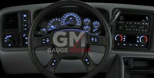 GM Dash Bulb to Blue LED Upgrade Kit for GM Truck & SUV's 2003 04 05 06 DIY New