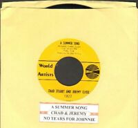 Chad & Jeremy - A Summer Song Vinyl 45 rpm Record Free Shipping