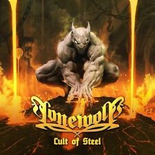Lonewolf - Cult of Steel CD 2014 jewel case traditional metal France Massacre