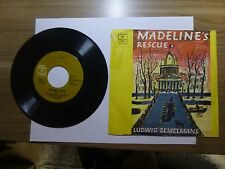 Old 45 RPM Children's Record - Columbia CC 71015 - Madeline's Rescue pts. I & II