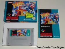 Super Nintendo / SNES Game: Plok [PAL] (Complete) [UKV]