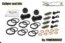 Honda GL1800 A Goldwing front brake caliper seal rebuild repair kit set ABS 2003