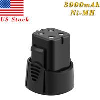3.0AH 4.8V Ni-MH Battery For Dremel 750-02 7300-N8 755-01 MiniMite Cordless Tool