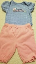 Small Wonders Baby Girl Size Nb Outfit