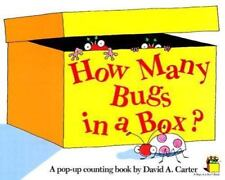 How Many Bugs in a Box?: A Pop Up Counting Book (Bugs in a Box Books)-ExLibrary