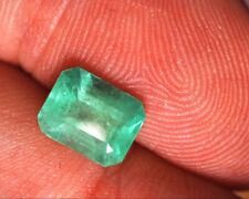 Colombian 1.47 CTS certified emerald
