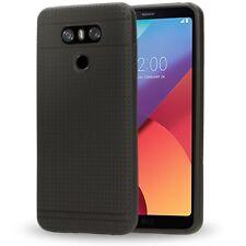 LG G6 Handy Hülle von NALIA, Ultra Slim Case Cover, Dünner Punkte Schutz Bumper