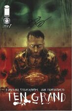signed TEN GRAND #1 1st print BEN TEMPLESMITH variant iMAGE COMIC 2013 NM COA