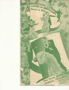 TOP HAT(1935)FRED ASTAIRE & GINGER ROGERS ORIGINAL PRESSBOOK HERALD