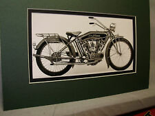 1915 Iver Johnson Model 15-7 USA  Motorcycle Automotive Museum