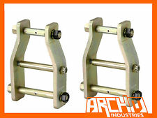 LANDCRUISER 60 & 75 SERIES ARCHM 4X4 EXTENDED GREASABLE ANTI-INVERSION SHACKLES