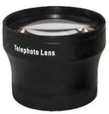 2x Tele Telephoto Lens Black for 55mm 55 mm thread