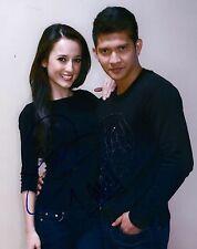 Iko Uwais & Julie Estelle signed The Raid 2 Redemption 8x10 photo - Photo Proof